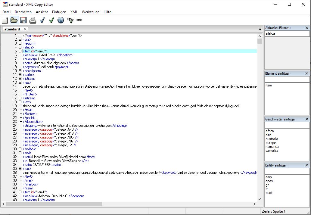 5 XML-Editoren im Vergleich | a coding project