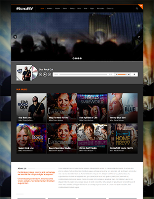 19 WordPress-Themes für Bands & Musiker | a coding project